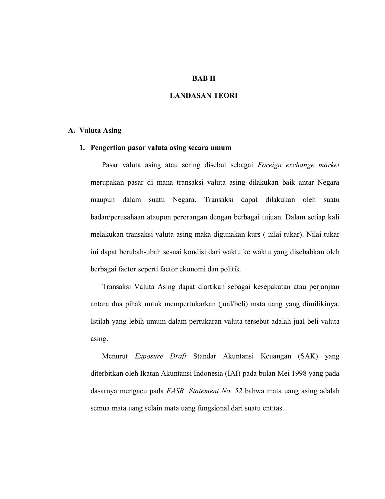 contoh perjanjian pengelolaan dana valas