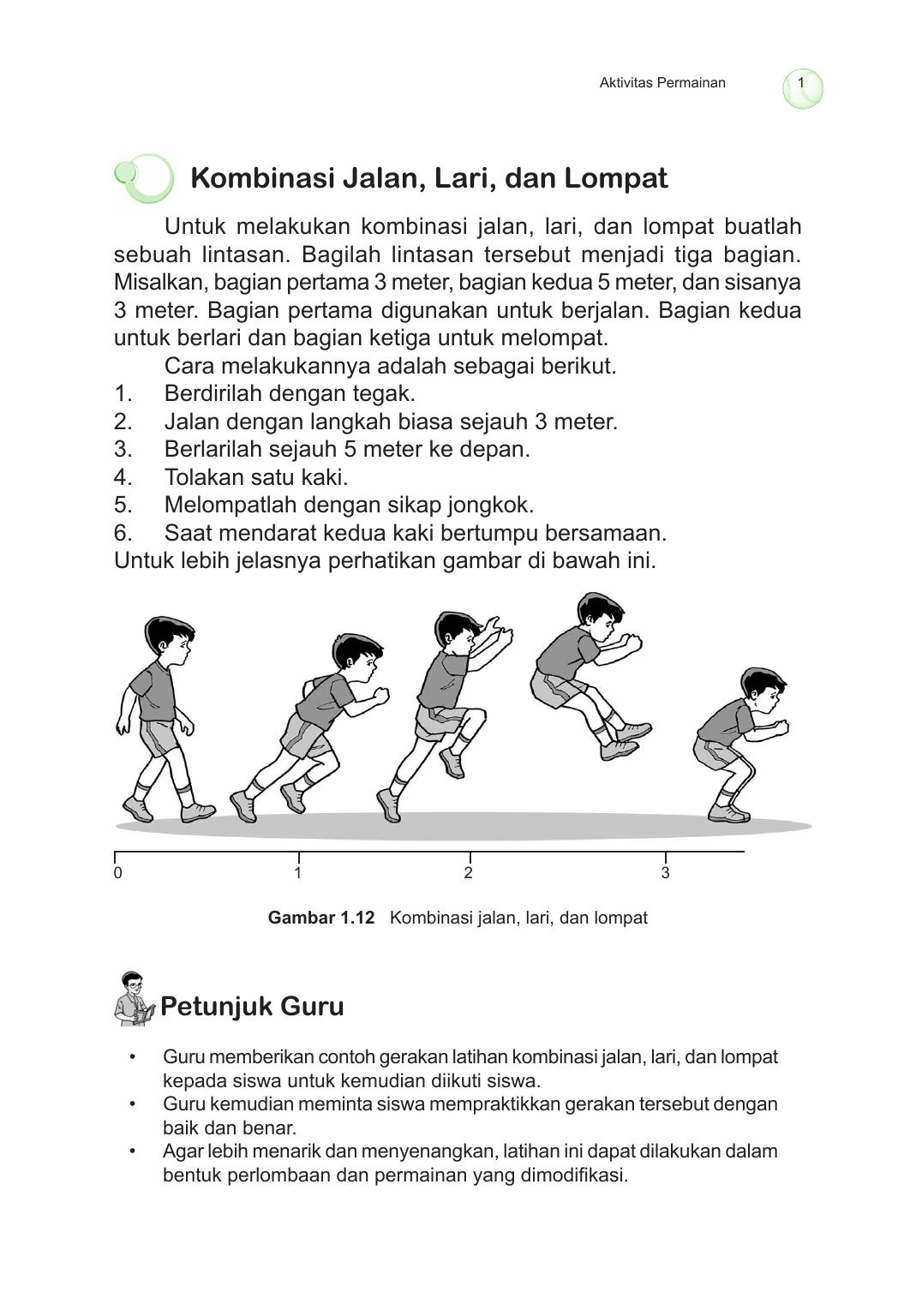 Kombinasi Jalan Lari Dan Lompat