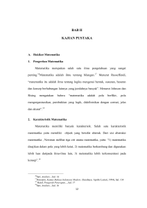 bab ii kajian pustaka - Institutional Repository of IAIN Tulungagung