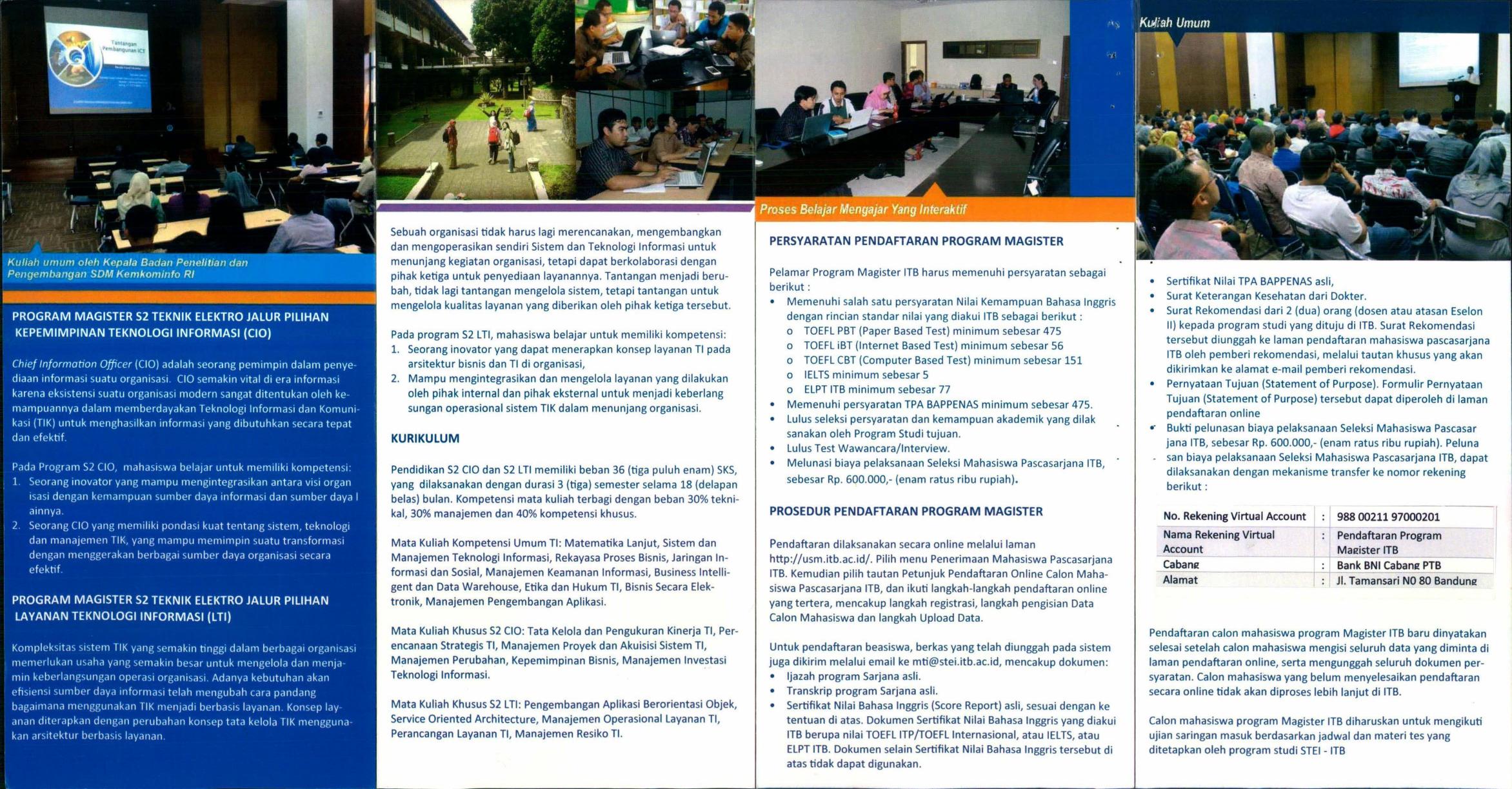 Persyaratan Pendaftaran Program Magister Prosedur