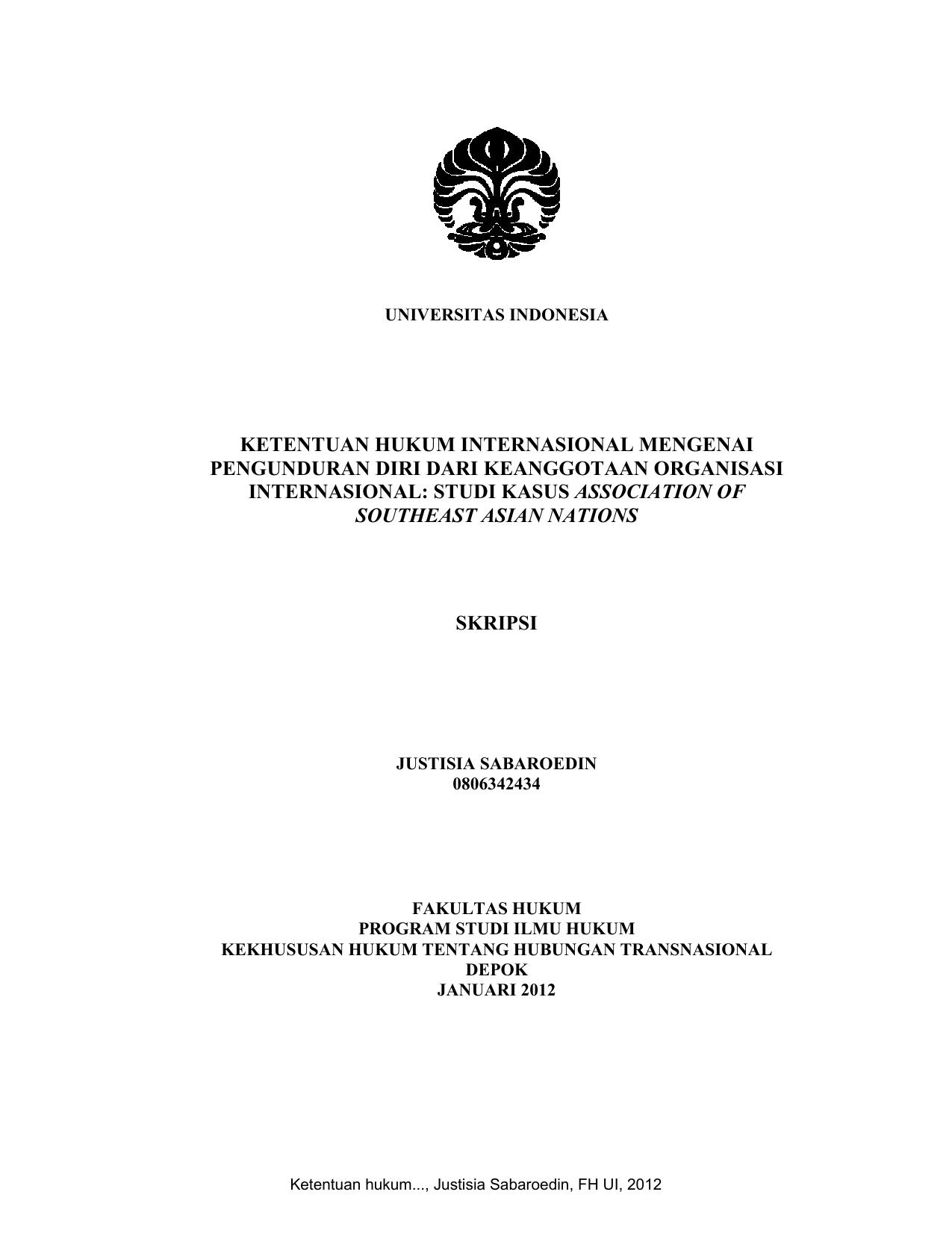 Surat Pengunduran Diri Dari Universitas Swasta - Bagi ...