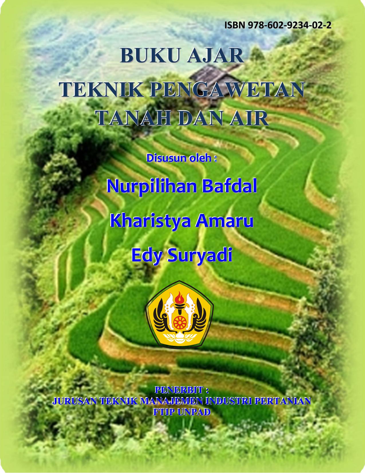 buku ajar teknik pengawetan tanah dan air