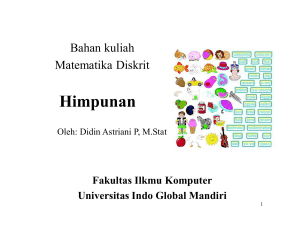 Himpunan - UIGM | Login Student - Universitas Indo Global Mandiri