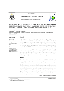 Unnes Physics Education Journal