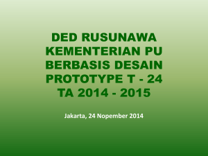 ded rusunawa ta 2014 - 2015 - Knowledge Management System