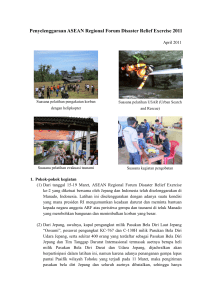 Penyelenggaraan ASEAN Regional Forum Disaster Relief Exercise