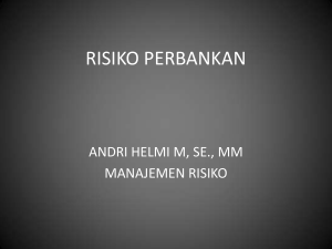 risiko perbankan