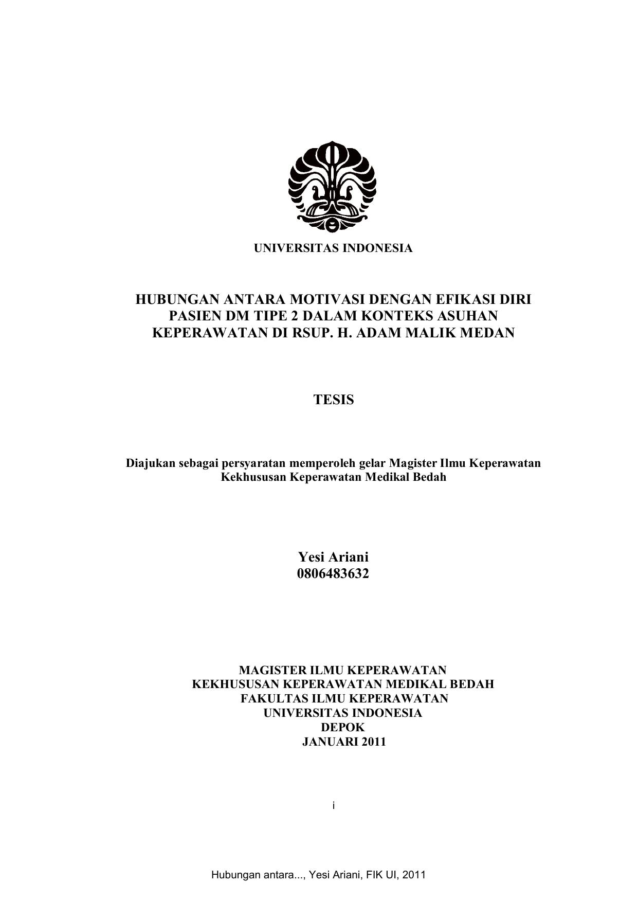 Contoh Proposal Penelitian Keperawatan Medikal Bedah Berbagi Contoh Proposal