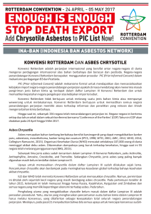 rotterdam convention and asbestos