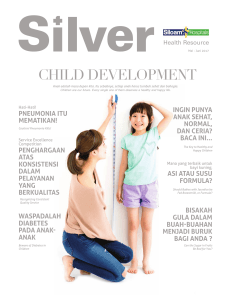 child development - Siloam Hospitals