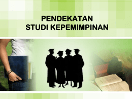 1. Pendekatan Sifat (The Treat Approach)