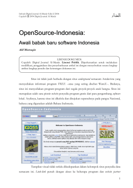 OpenSource-Indonesia: