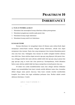 Bab 10. Inheritance1 OK