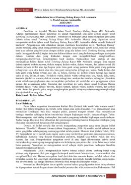 Deiksis Dalam Rubrik Tajuk Surat Kabar