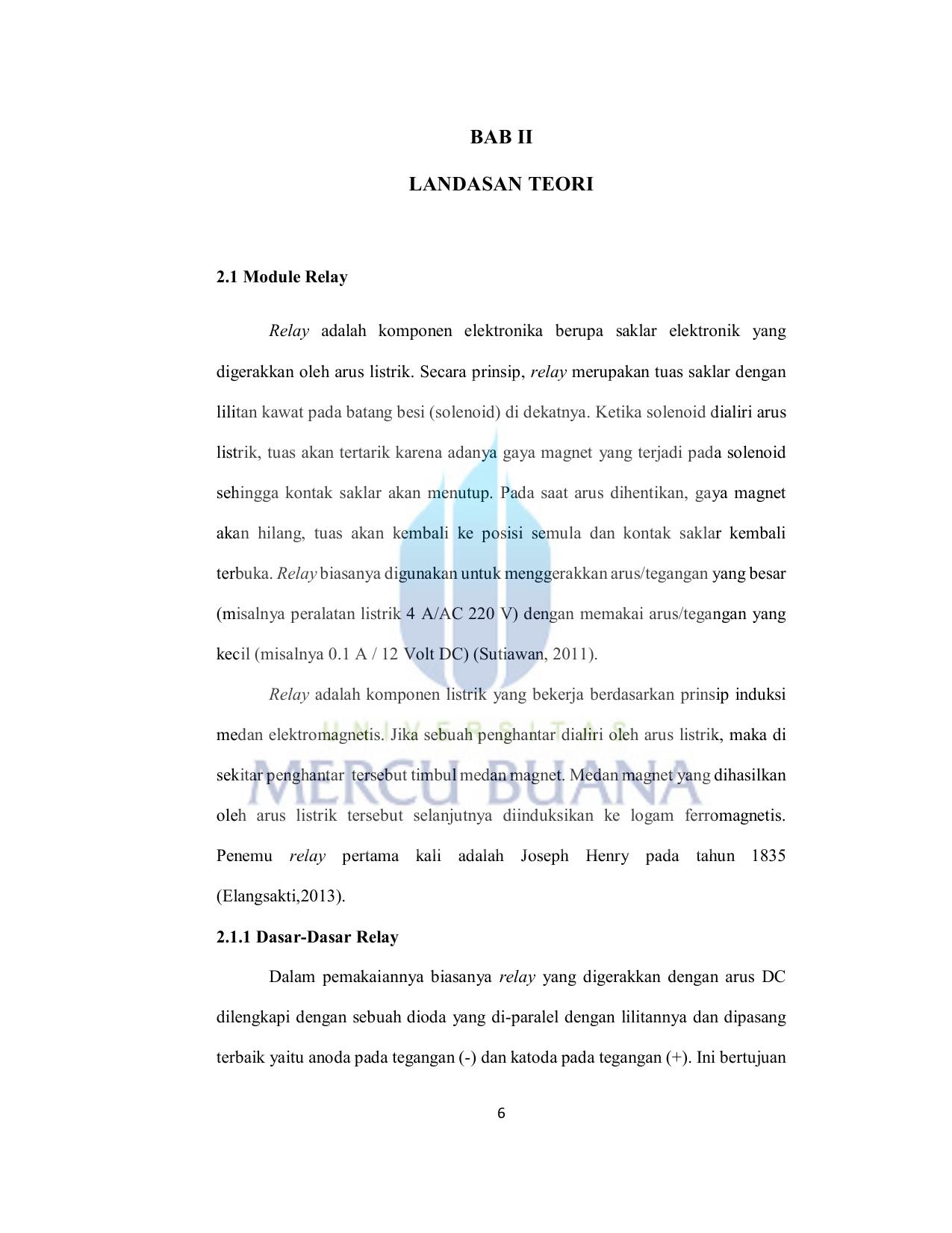 Bab Ii Landasan Teori Perpustakaan Universitas Mercu Buana 9 Volt 2 Amp Power Supply By 78s09