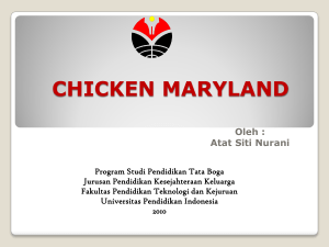 chicken maryland - Direktori File UPI