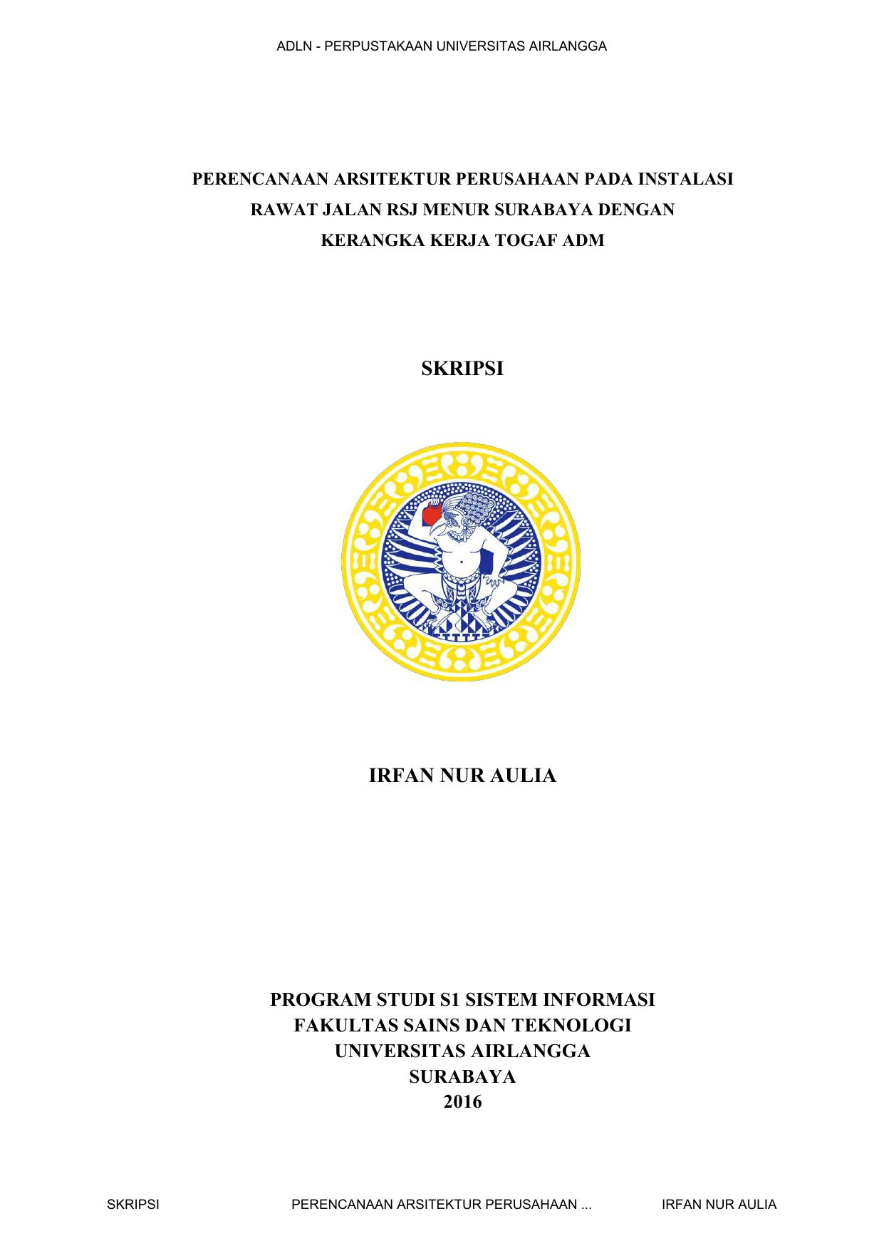 Skripsi Irfan Nur Aulia Unair Repository