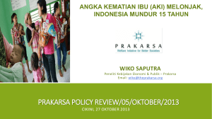 prakarsa policy review/05/oktober/2013