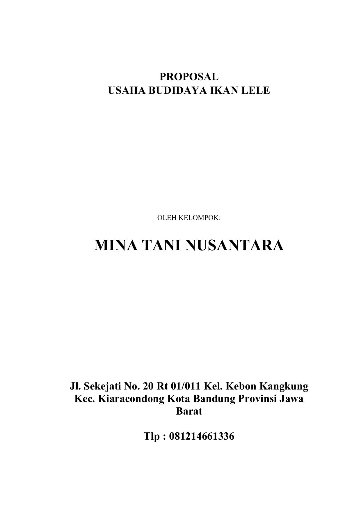 Mina Tani Nusantara Sabilulungan
