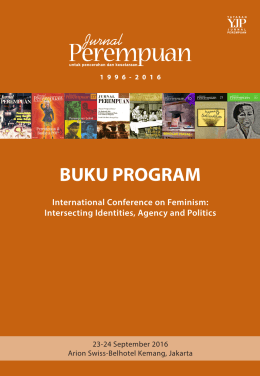 bu buku program - Jurnal Perempuan