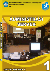 Administrasi Server - Gerakan Open Source