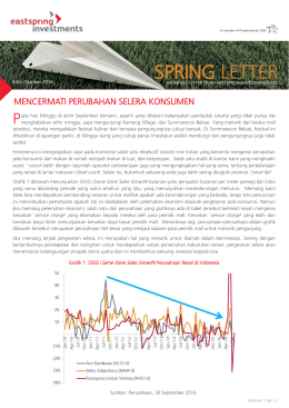 spring letter - Eastspring Investments Indonesia
