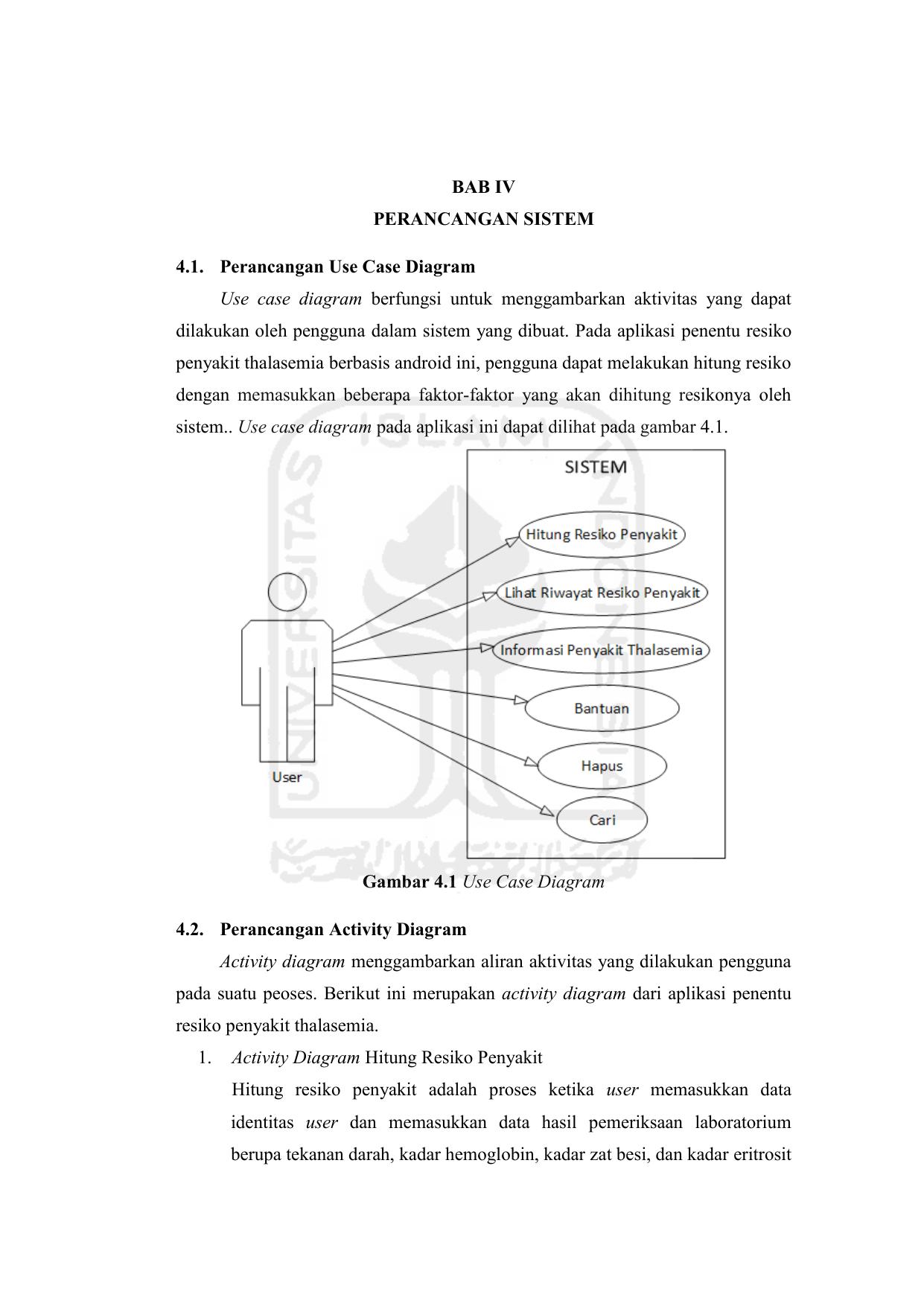 Bab Iv Perancangan Sistem 4 1 Perancangan Use Case
