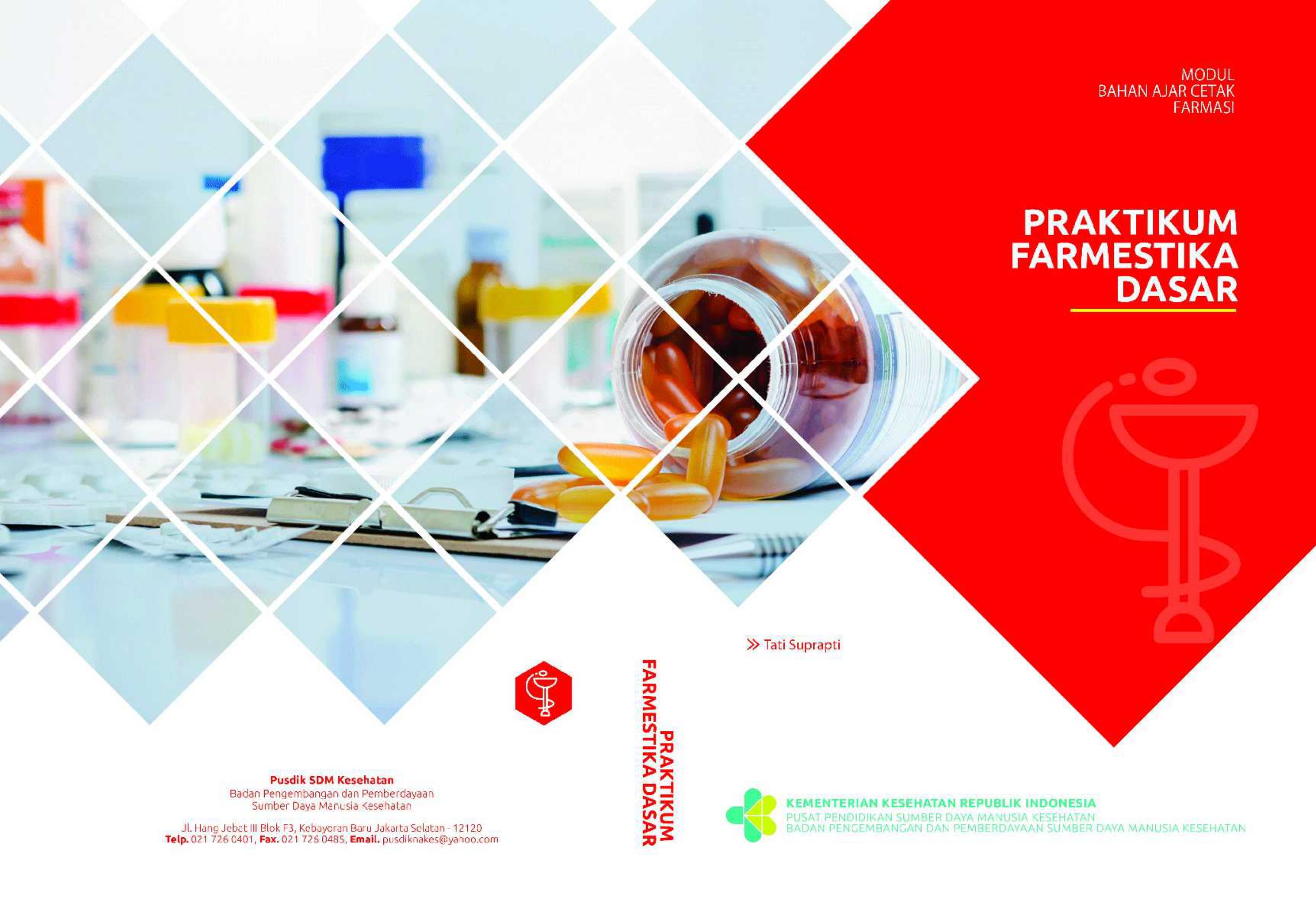 Praktikum Farmestika Dasar Farmasi