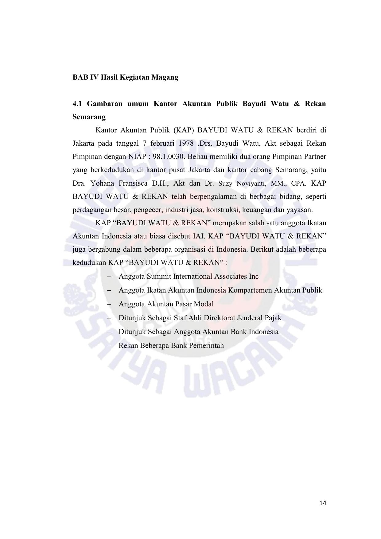 Audit Persediaan Pada Perusahaan Manufaktur Pt Abc Magang