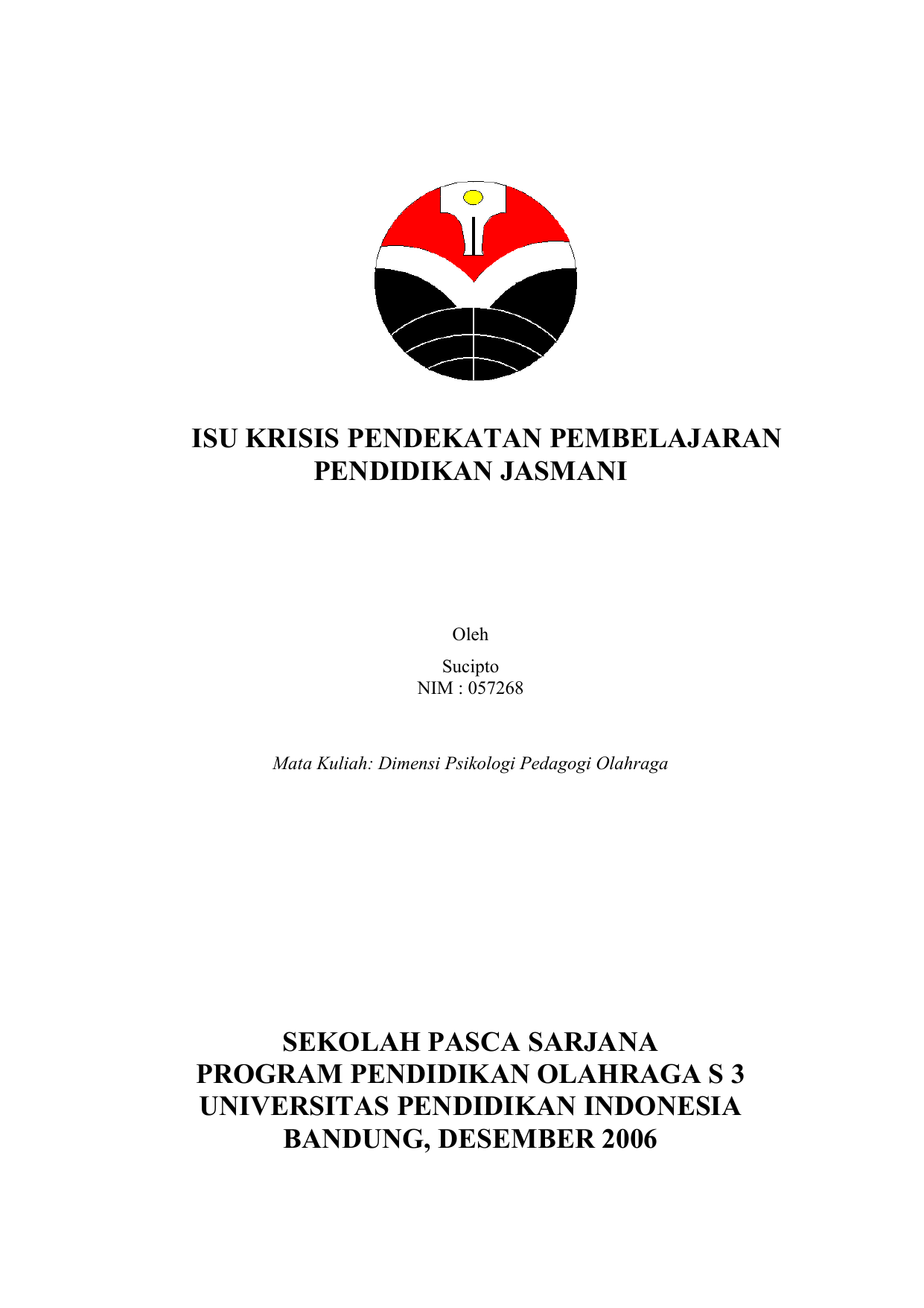 Pengajuan Proposal Penelitian Dana Rutin