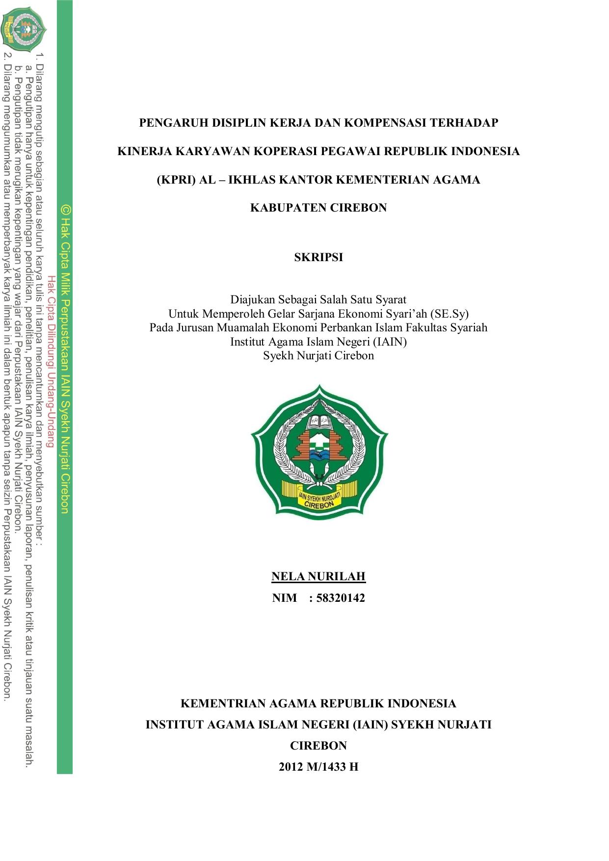 Pdf Pengaruh Kompensasi Dan Motivasi Terhadap Kinerja Karyawan Pt Bank Ekonomi Raharja Tbk Area Jakarta 5