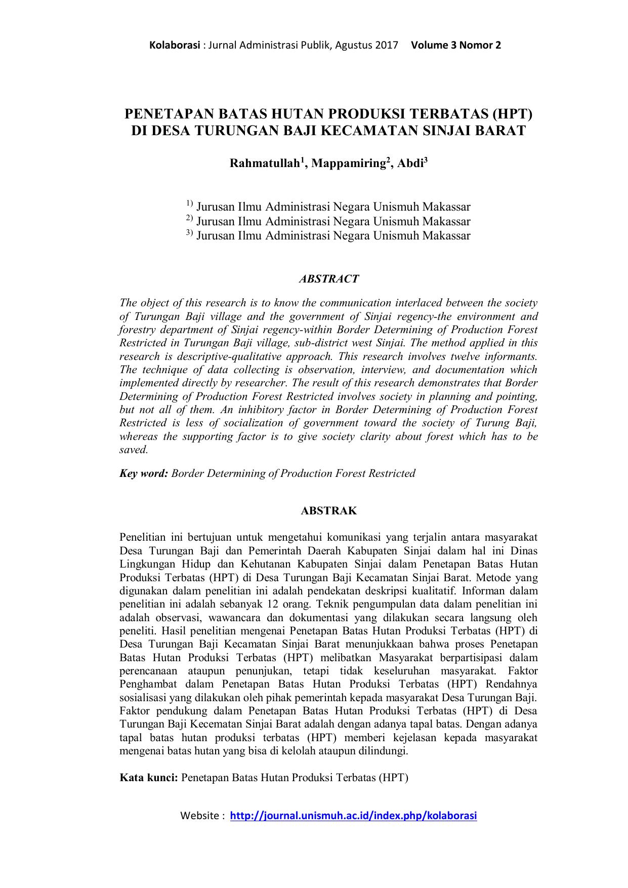 Contoh Abstrak Skripsi Hukum Tata Negara Pejuang Skripsi
