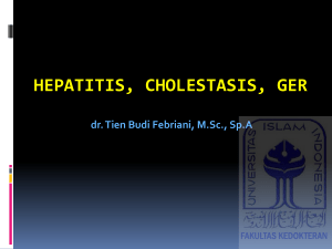hepatitis, cholestasis, ger