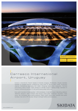 Carrasco International Airport, Uruguay