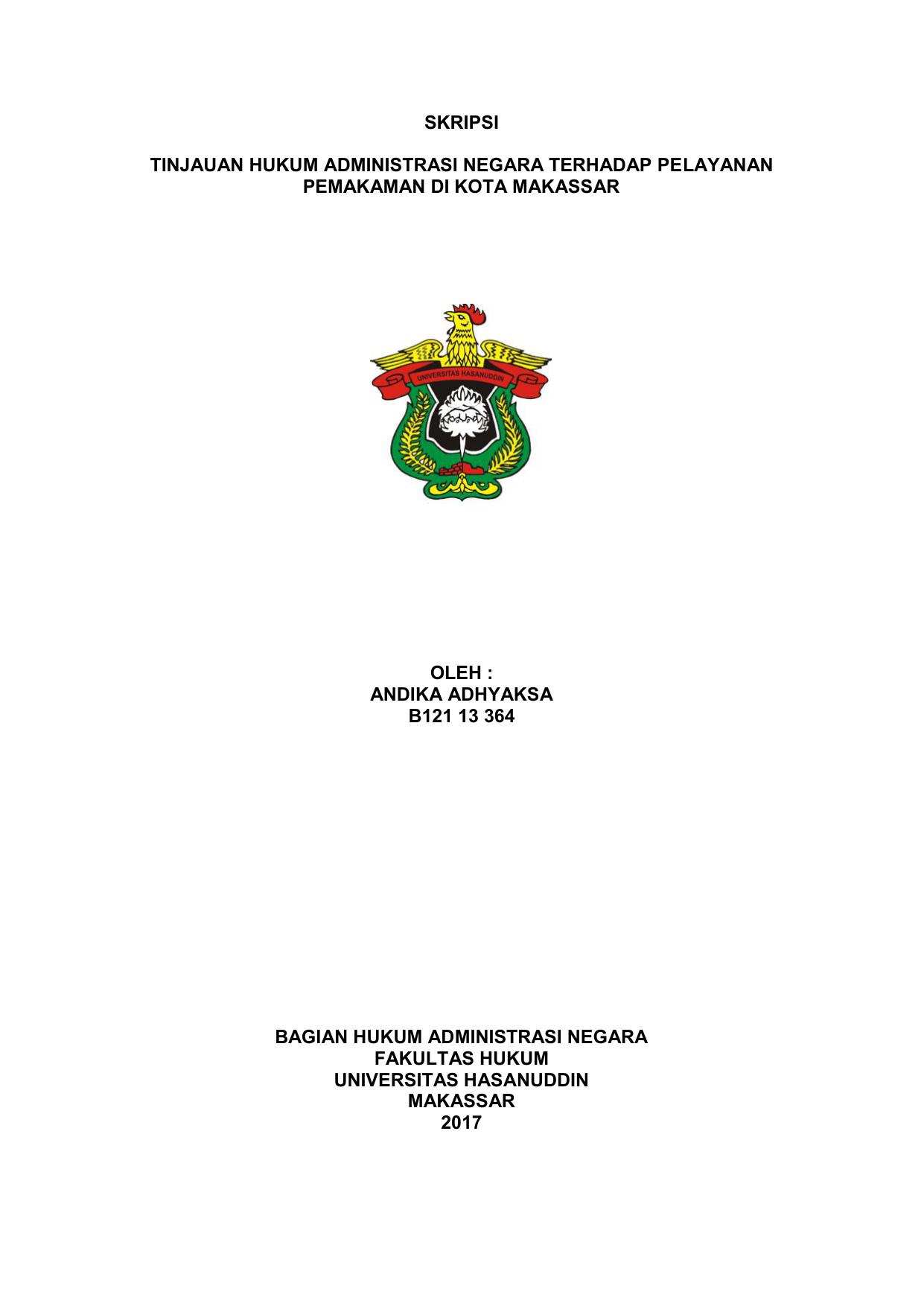 Contoh Judul Skripsi Kualitatif Administrasi Publik