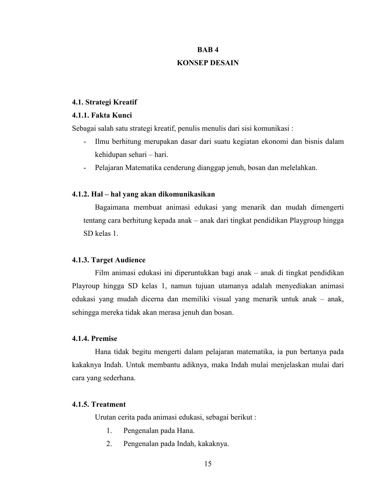 Strategi Kreatif 4 1 1 Fakta Kunci