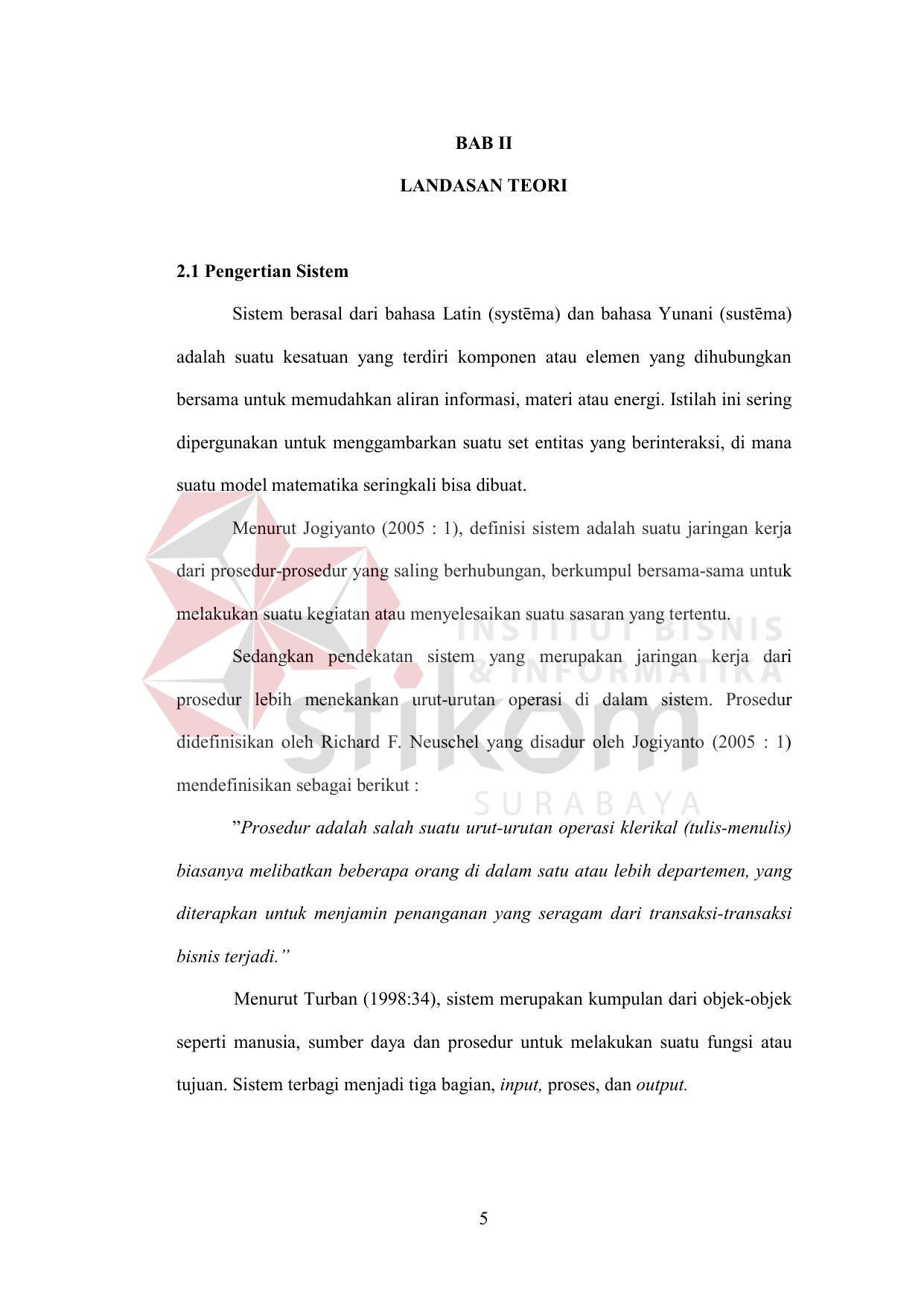 Bab ii landasan teori 21 pengertian sistem sistem berasal ccuart Image collections