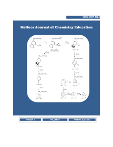 Molluca Journal of Chemistry Education