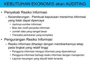 tujuan auditing - Nyoman Darmayasa