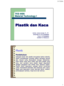 Plastik dan Kaca - about Civil Engineering