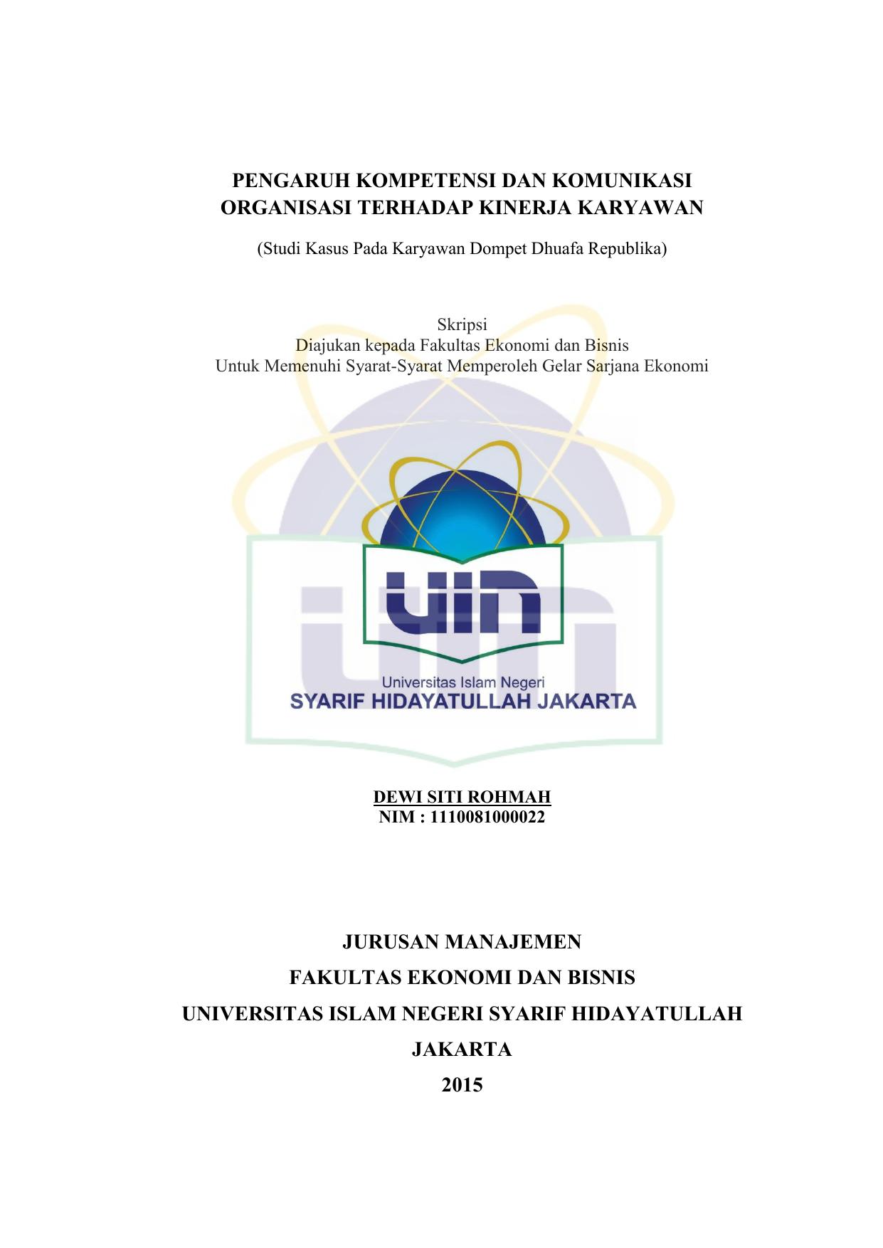 Dewi Siti Rohmah Repository Uin