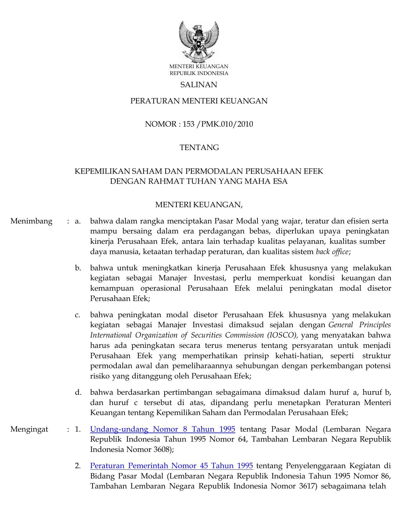 UU 7 tahun tentang Perdagangan | Jogloabang