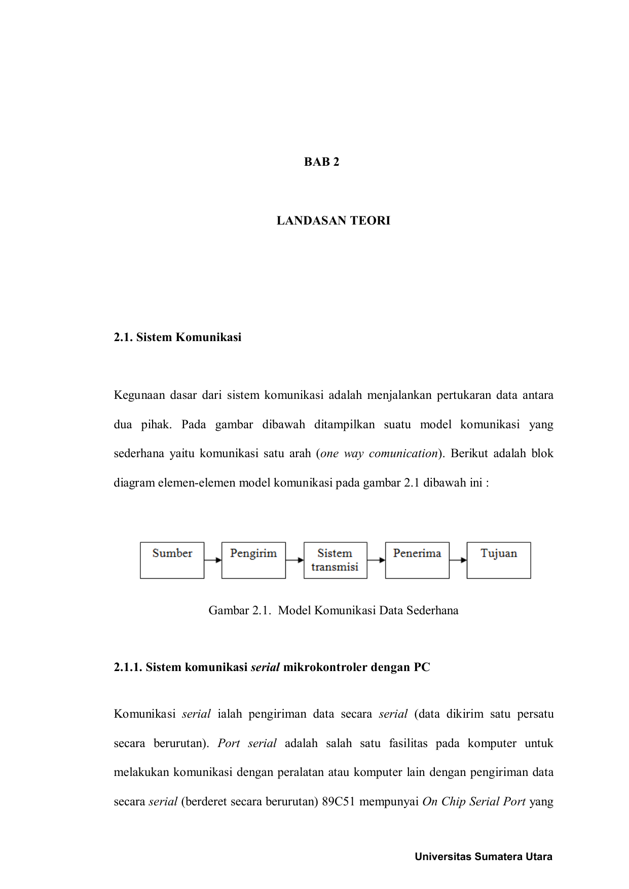 Bab 2 universitas sumatera utara ccuart Choice Image