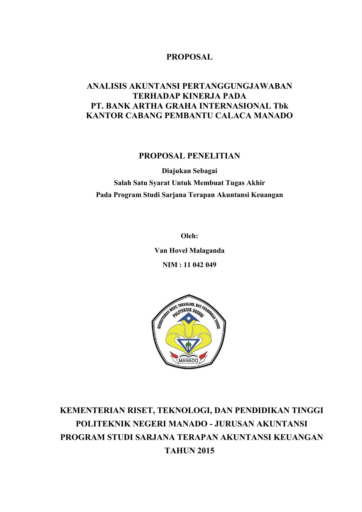 Proposal Penelitian Akuntansi Ilmusosial Id