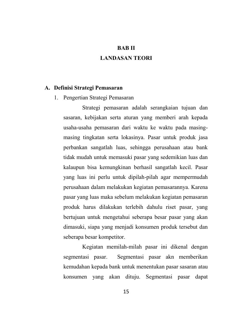 strategi perdagangan pengembalian makna