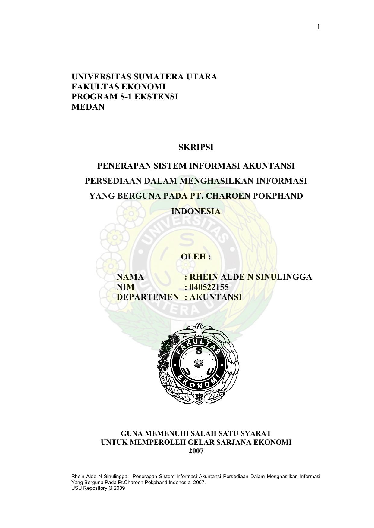 Universitas Sumatera Utara