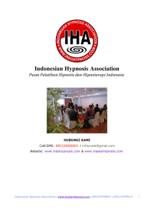 Indonesian Hypnosis Association
