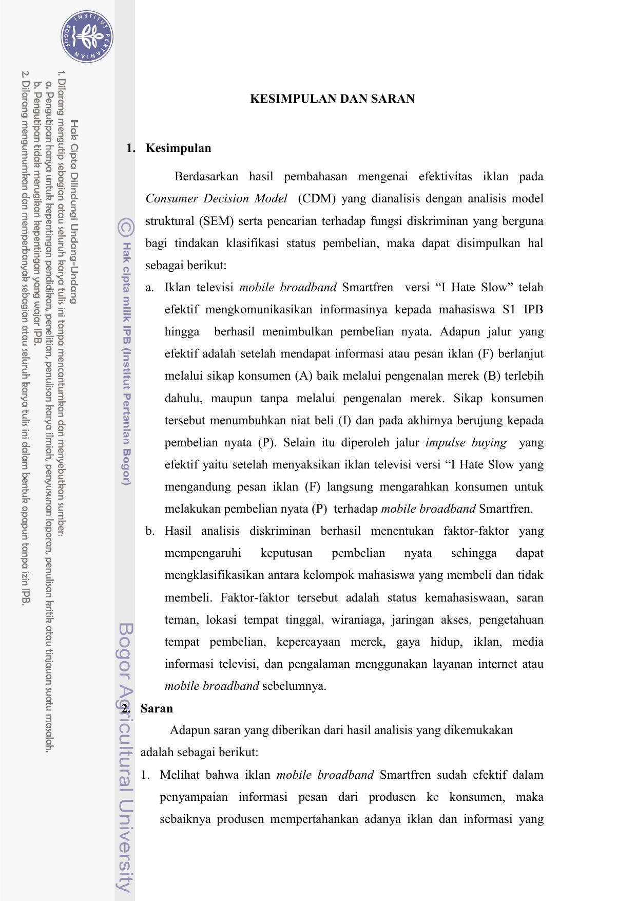 CDM - IPB Repository