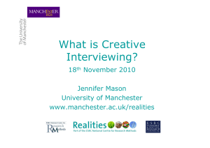 creativeinterviewing