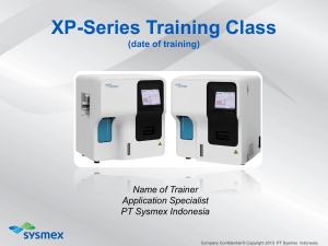 XP-Series Training Class